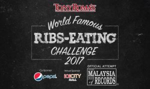 Tony Roma's Ribs-Eating Competition 2017