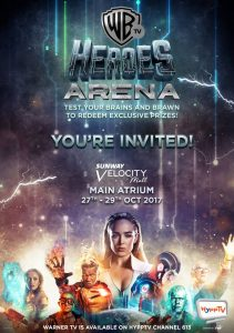 WB Heroes Area at Sunway Velocity