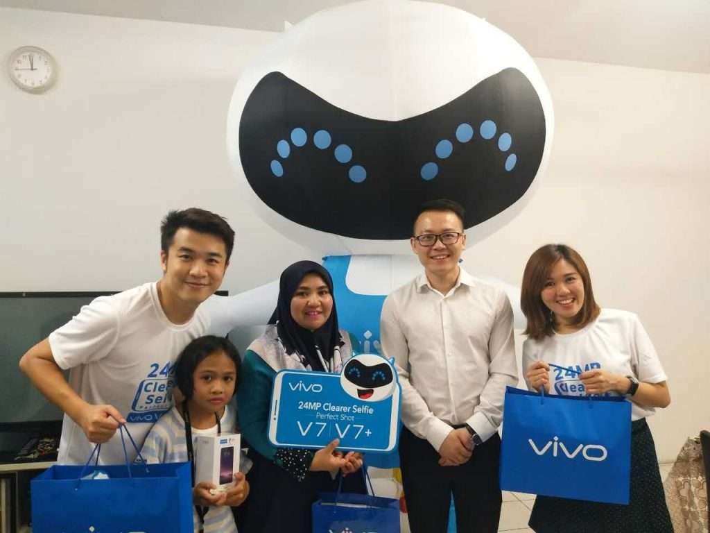 vivo Launched Super Day with vivo V7+ Available for Purchase