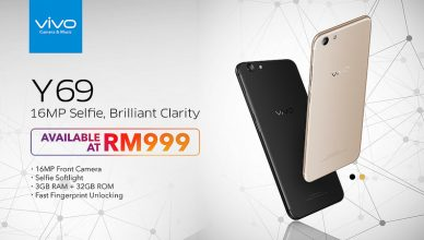 vivo Y69 Official Launch in Malaysia