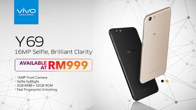 Vivo Y69 Official Launch In Malaysia For RM999
