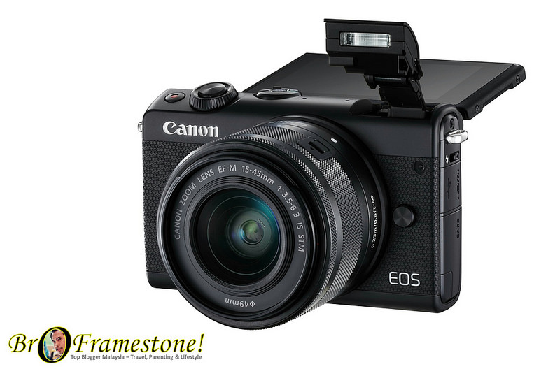 Canon's New Mirrorless EOS M100 at Price RM2,499