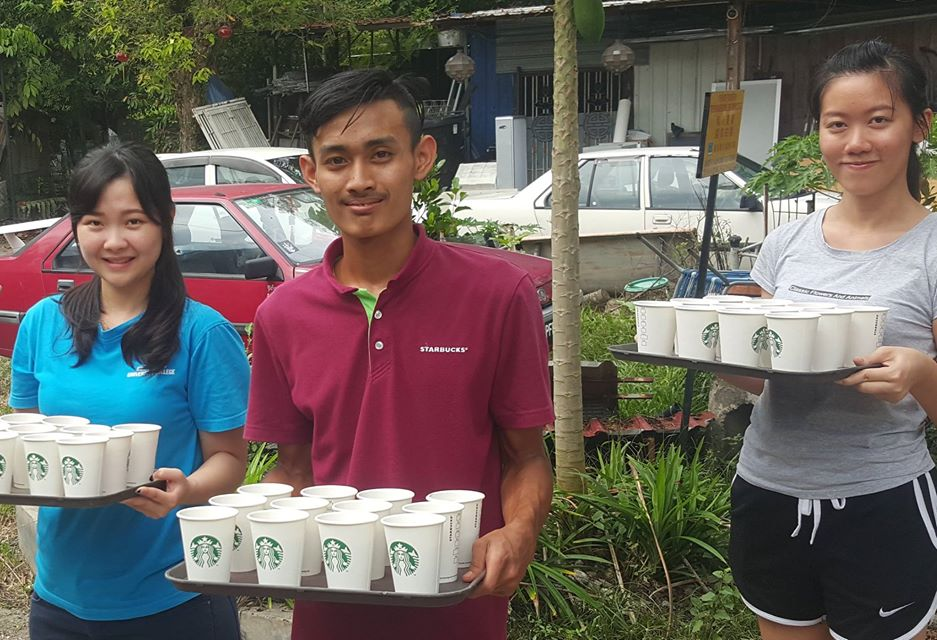 Starbucks Malaysia Deliver Warmth In The Aftermath Of Floods In Penang