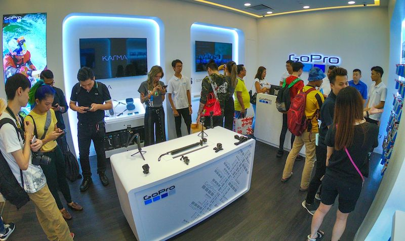GoPro Concept Store