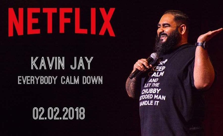 Malaysia's Grumpiest Comedian Kavin Jay is Next On Netflix