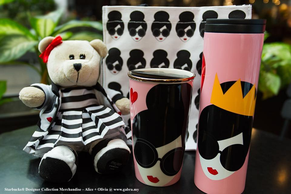 Starbucks® Designer Collection Merchandise – Alice + Olivia
