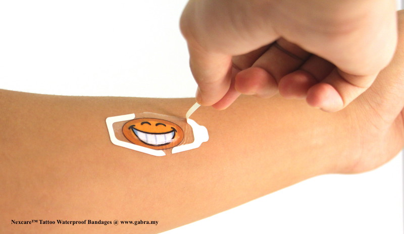 8. Nexcare™ Tattoo Waterproof Bandages