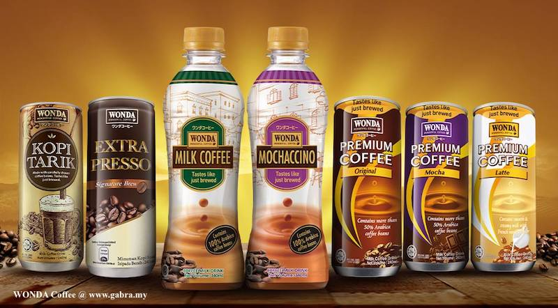 WONDA Milk Coffee & Mochaccino