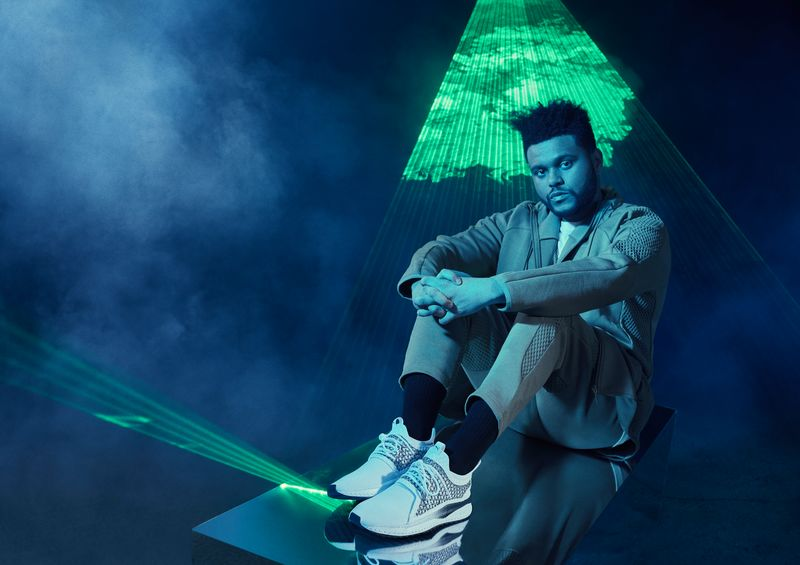 PUMA The new Tsugi Netfit V2 worn by The Weeknd