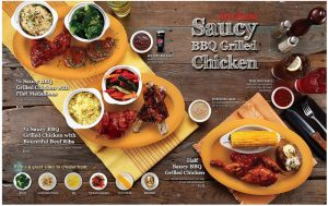 Tony Roma's Saucy BBQ Grilled Chicken