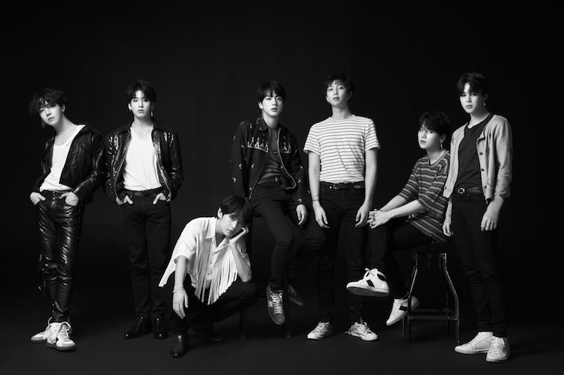 BTS's New Album Available on Spotify