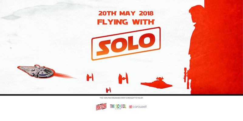 """Flying With Solo"" by Star Wars Malaysia Fan Club & Carousell"