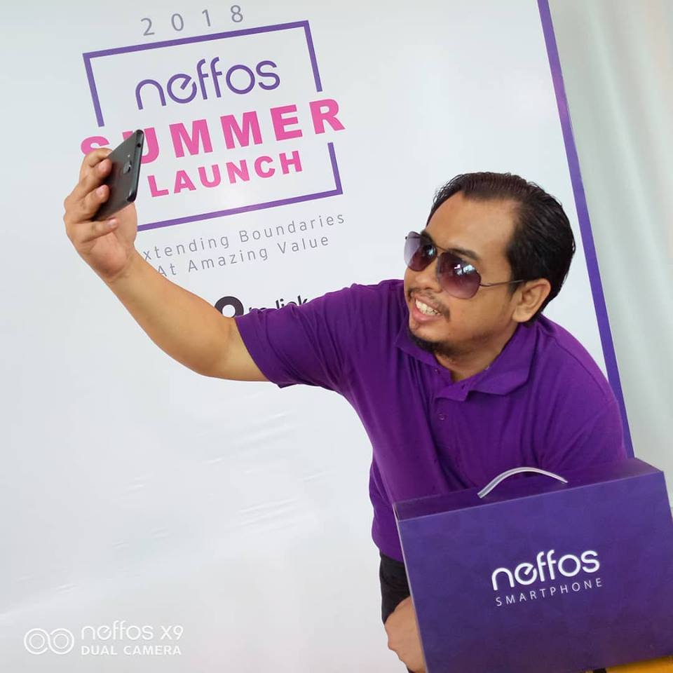 Neffos X9 – Dual-Camera With Large Full-View Display