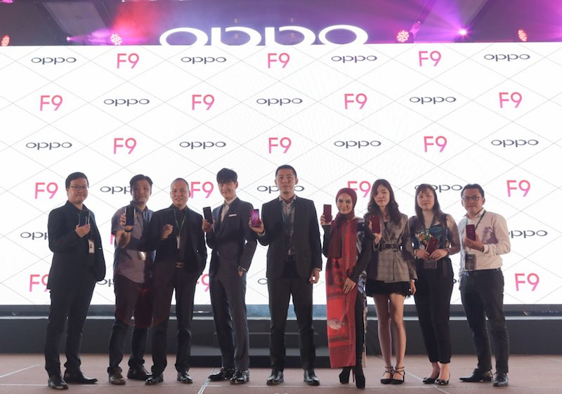 OPPO F9 Makes its Debut in Malaysia at RM1,399