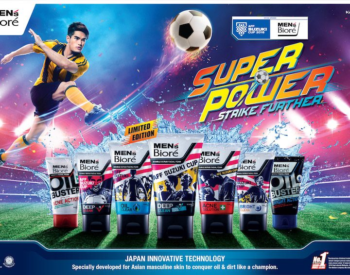 Men's Bioré Official Sponsor AFF Suzuki Cup 2018