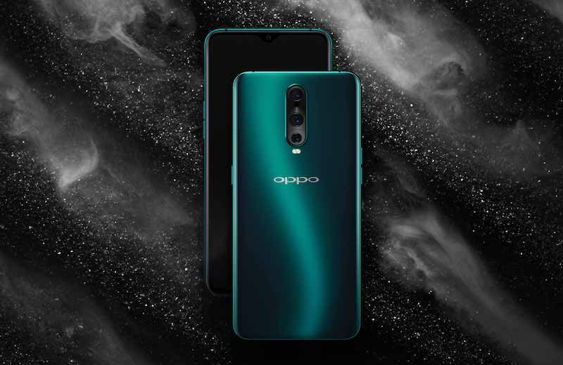 OPPO R17 Pro in Emerald Green