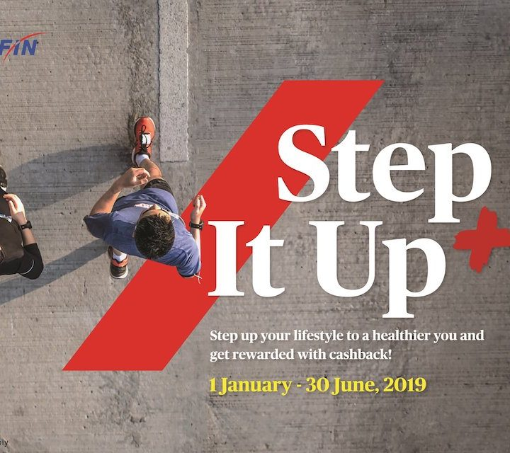 AXA AFFIN Rewards Healthy Lifestyle with Upgraded Step It Up+