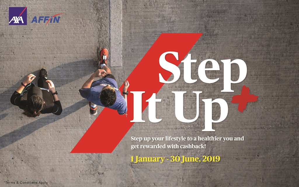 AXA AFFIN Step It Up