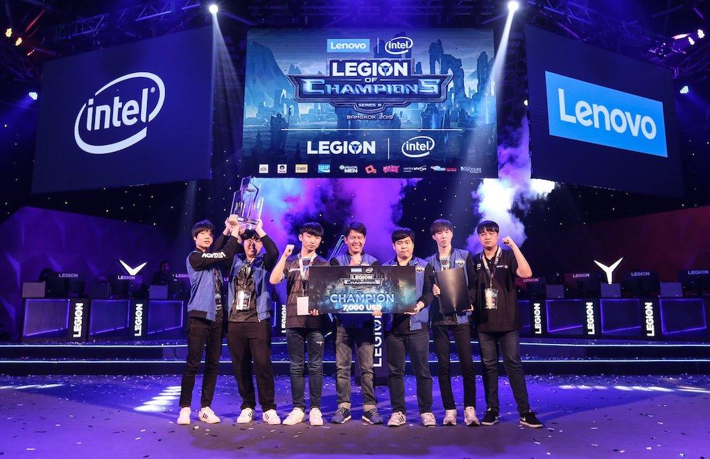 Awe Star from Korea - Legion of Champions III 2019