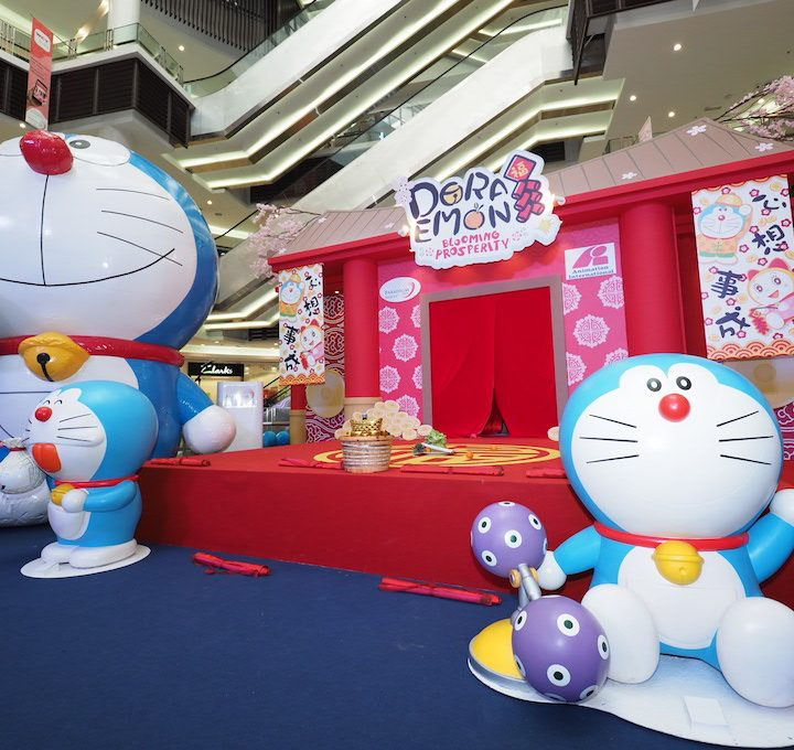 CNY 2019 Celebration with Doraemon at Paradigm Mall