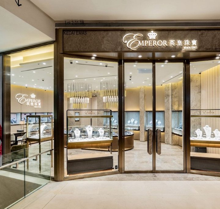 Emperor Jewellery Launches First Store in Pavilion KL
