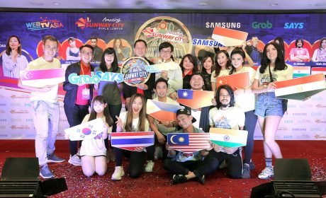 10 Asia's Social Media Influencer Battle in The Amazing Sunway City Challenge