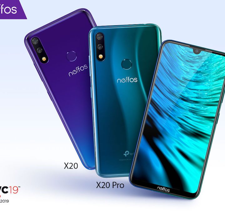 Neffos X20 and Neffos X20 Pro Will Showcase at Mobile World Congress 2019