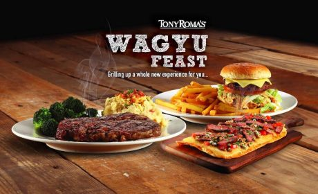 Limited Time Tony Roma's Wagyu Feast Until 30 April 2019
