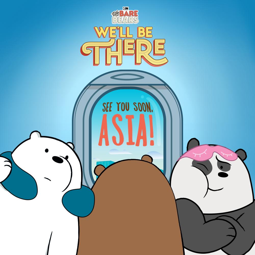 We Bare Bears are Coming to Asia