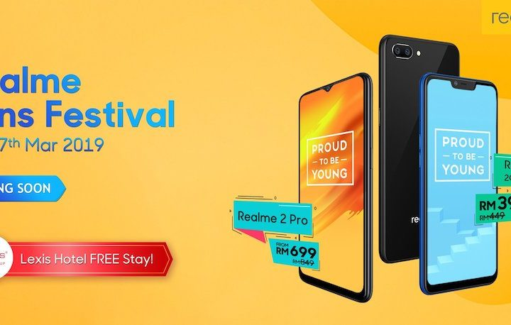 1st Realme Fans Festival Collaboration with Shopee Malaysia & Lexis Hotel Group