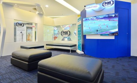 FOX Sports Lounge Open in Sunway Pyramid Until 24 April 2019