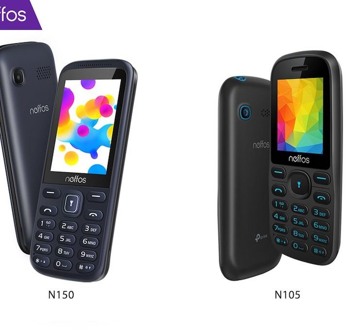New Neffos N105 and N150 Feature Phones