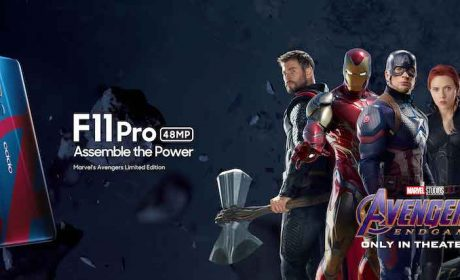 The OPPO F11 Pro Marvel's Avengers Limited Edition