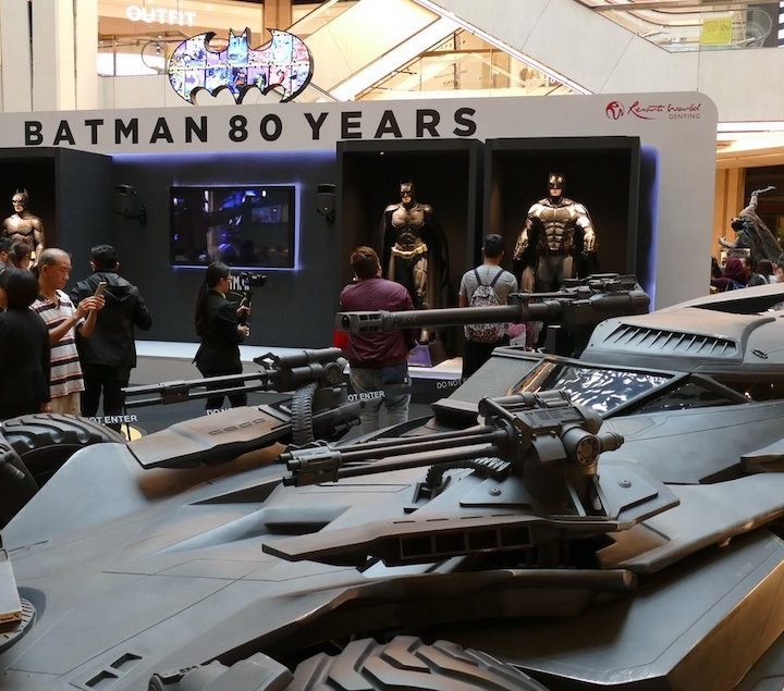 Batman's 80th Anniversary at SkyAvenue, Resorts World Genting