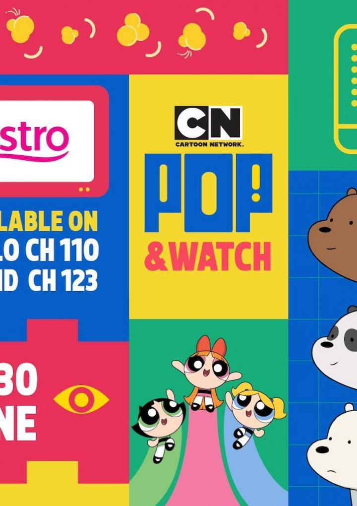 Cartoon Network Pop & Watch this Hari Raya On Astro