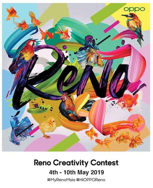 Express Your Individuality with OPPO Reno Creativity Contest