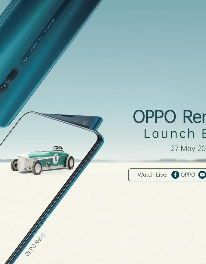 OPPO Reno Series is Coming to Malaysia on May 2019