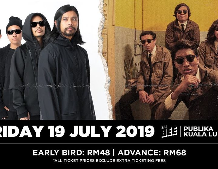 The Bee is Buzzing With Bazzi, Hujan and Kugiran Masdo This July 2019