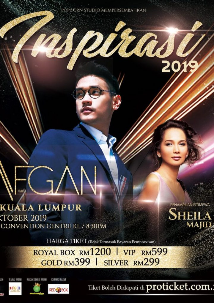 Inspirasi Afgan LIVE In Kuala Lumpur 2019 @ HGH Convention Centre