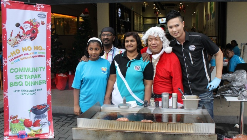 Founder & CEO of Smashies Burger Mr Will Soh