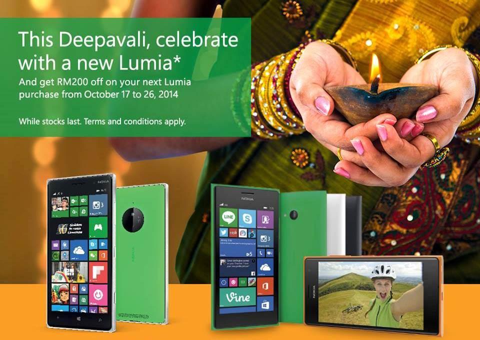 Nokia Malaysia Deepavali Promotion