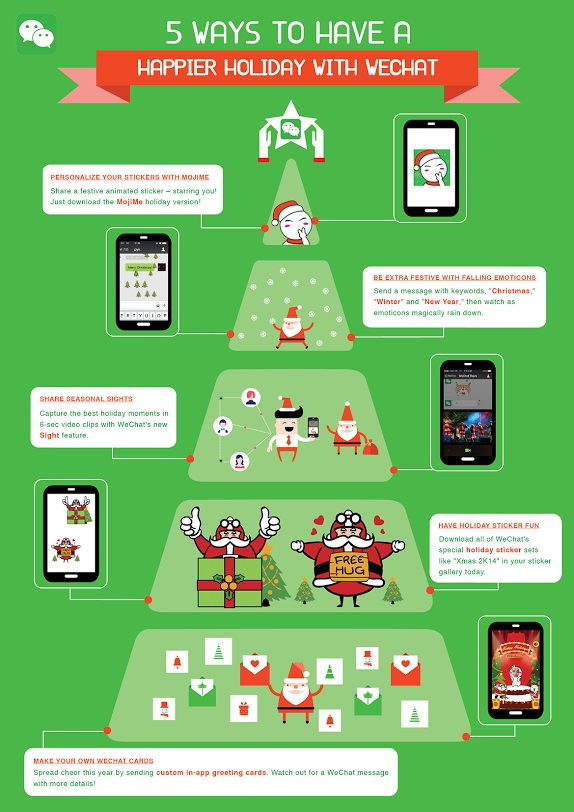 5 Ways to Have a Happier Holiday with WeChat