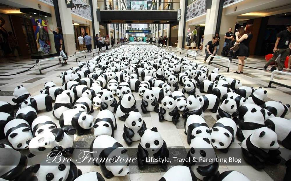 1600 Paper Mache Pandas MY Adoption