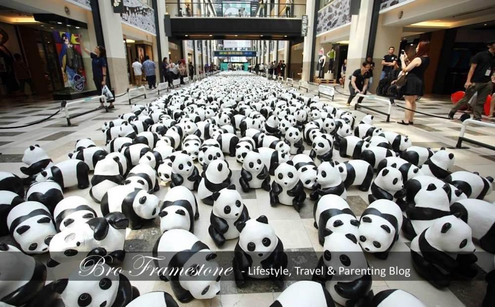 1600 Paper Mache Pandas MY Adoption