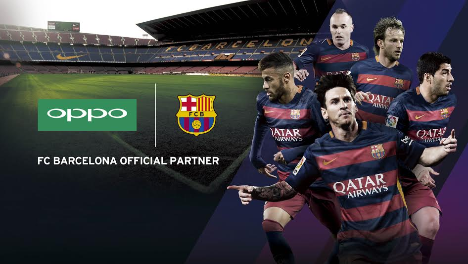 OPPO Becomes FC Barcelonas Official Partner