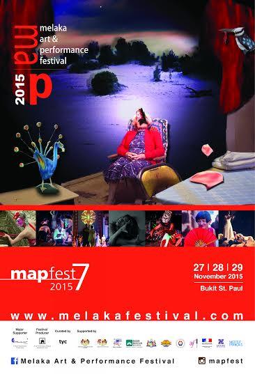 Poster Melaka Art & Performance Festival