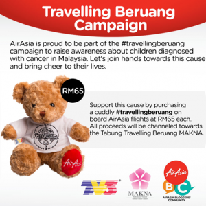 Travelling Beruang Campaign
