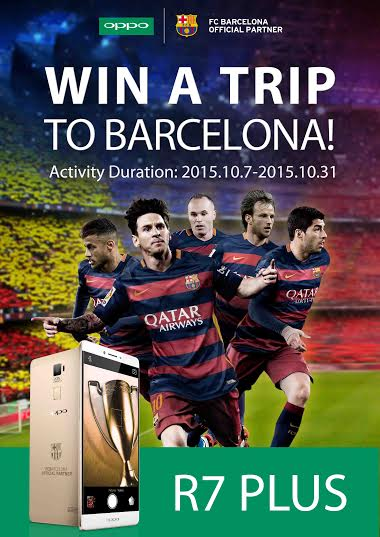 Stand A Chance To Win A Trip To Barcelona