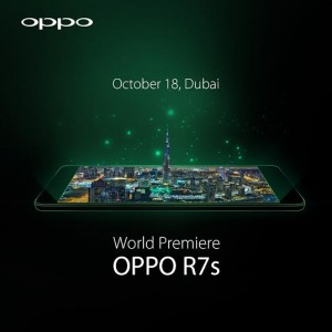 World Premiere of the OPPO R7s Set