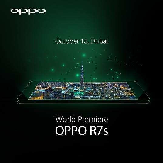 World Premiere of the OPPO R7s in Dubai